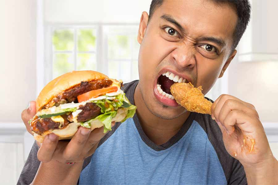 اضرار الدهون على خصوبة الرجال