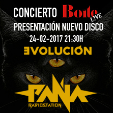 Concierto de Paña Radiostation y The Virgo Superclusters en Boite Live