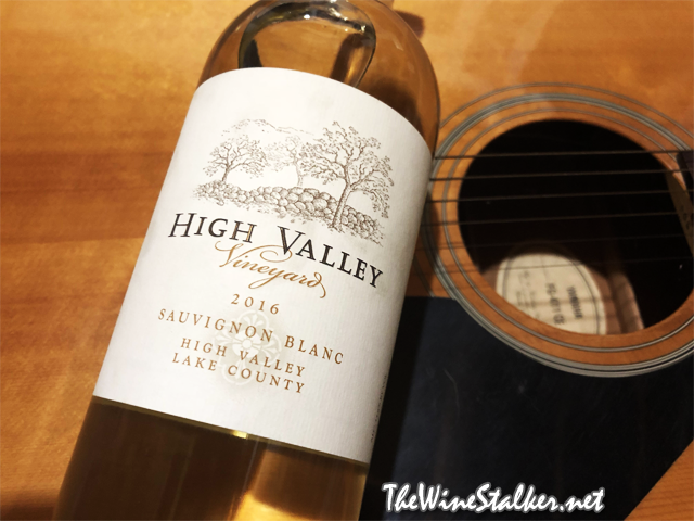 High Valley Vineyard Sauvignon Blanc 2016