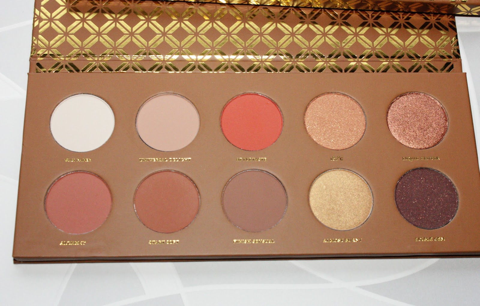 Zoeva caramel melange eyshadow palette review and swatches