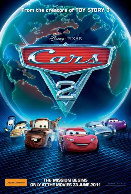 Cars 2 สายลับสี่ล้อ ซิ่งสนั่นโลก 2 HD 2011