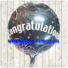 Balon Foil Congratulations