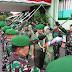 Sertijab Danrem 022/PT Kolonel Arm Khoirul Hadi SE Ketangan Kolonel Infanteri Raden Wahyu Sugiarto Sip M.Han Berlangsung Meriah