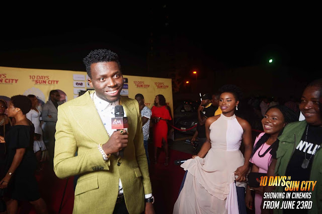 RMD, Ali Baba,Adesua Etomi,Banky W & More Attend The Premiere Of AY Makun's #10daysinsuncity