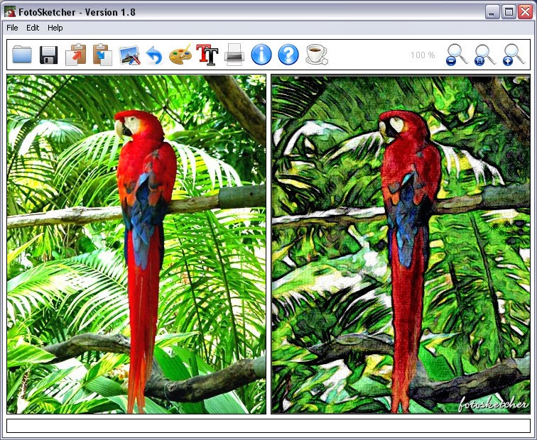 Download FotoSketcher Free