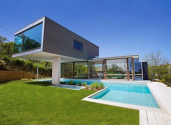 Σπίτι με μοντέρνα διακόσμηση