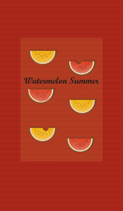 Watermelon summer + tomato red [os]