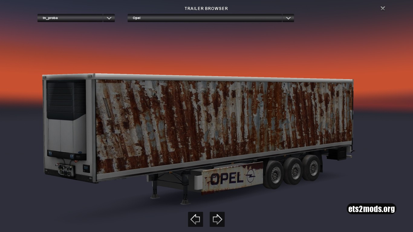 Rusty Opel Trailer