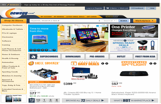 newegg shipping free sample order