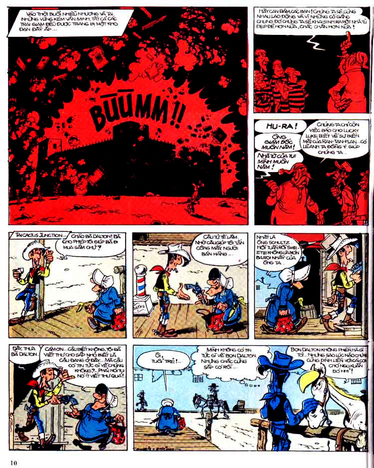Lucky Luke tap 15 - ma dalton trang 11