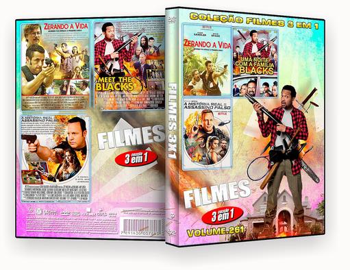 FILMES 3X1 – Filmes 3 Em 1 Vol.261 – ISO