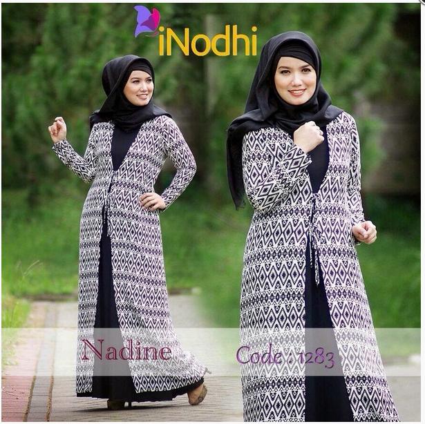 10 Contoh Baju Muslim Syar'i Model Baru 2015