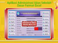 Aplikasi Administrasi Ujian Sekolah Dasar Format Excel