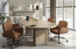 Global Total Office Zira Conference Table
