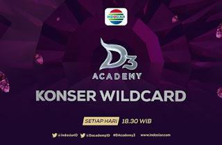 Dhea Lampung yang Tersenggol di Grup A Konser Wildcard D'Academy 3 Tadi Malam