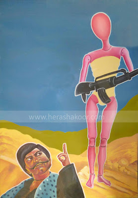 billboard paintings by syeda hera shakoor