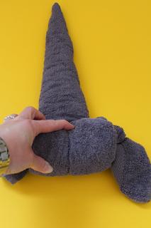 DIY-Basteltipp für einen Handtuch-Origami-Yoda von Ars Vera