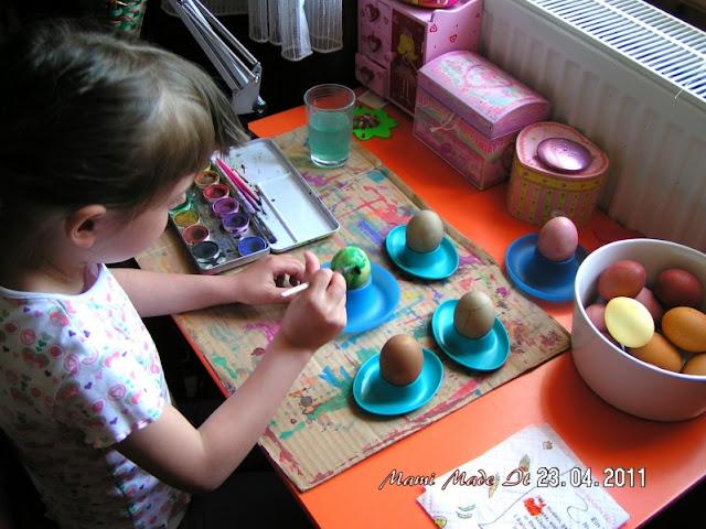 Egg Coloring - Eier färben