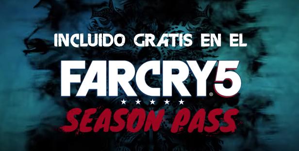 Far Cry 5 anuncia contenido de zombies y vuelve Far Cry 3 en la nueva generación