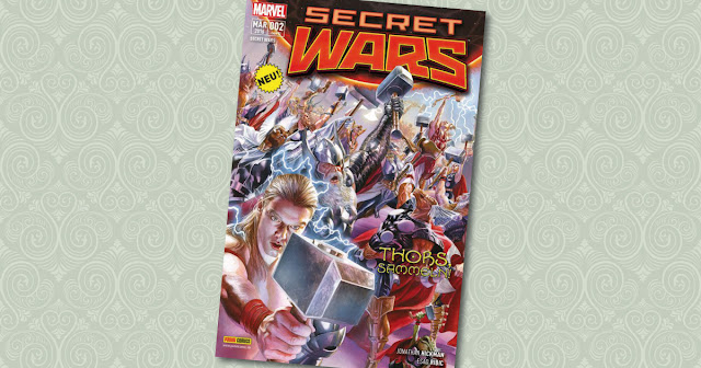 Secret Wars 2 Panini Cover