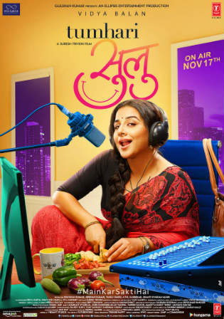 Tumhari Sulu 2017 DVDRip 400Mb Full Hindi Movie Download 480p