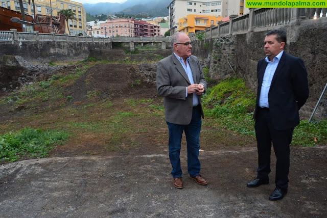 El Consejo Insular de Aguas encargará el proyecto para evitar inundaciones en el barranco de Las Nieves de la capital