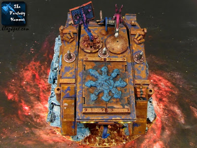 Possessed Chaos Space Marines Rhino of Tzeentch