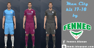 Kits Manchester City Season 17/2018 PES 2017