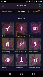 Kelebihan aplikasi langit musik