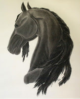 equine artworks, equestrian art