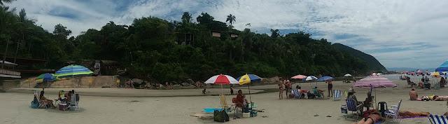 Iporanga, mar e cachoeira