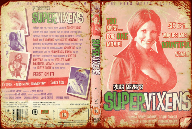 Supervixens DVD Cover