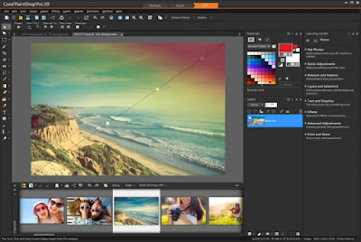 Corel PaintShop Pro X9 19.0.1.8 + Content Pack Terbaru 2016