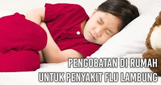 Pengobatan di rumah untuk penyakit Flu Lambung