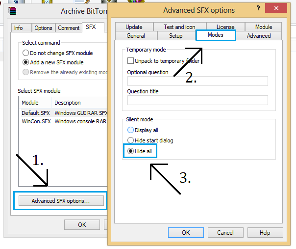 How to Create Silent Installer with Winrar - YJ ES Latest Buzz