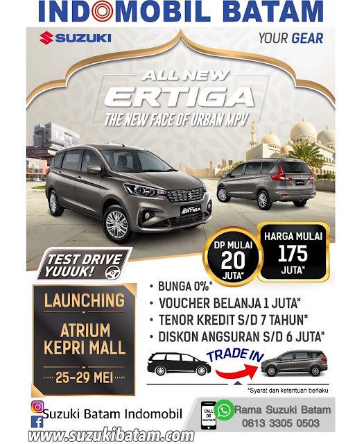 "SUZUKI  BATAM "" ALL NEW ERTIGA"" RESMI LAUNCHING DI BATAM"