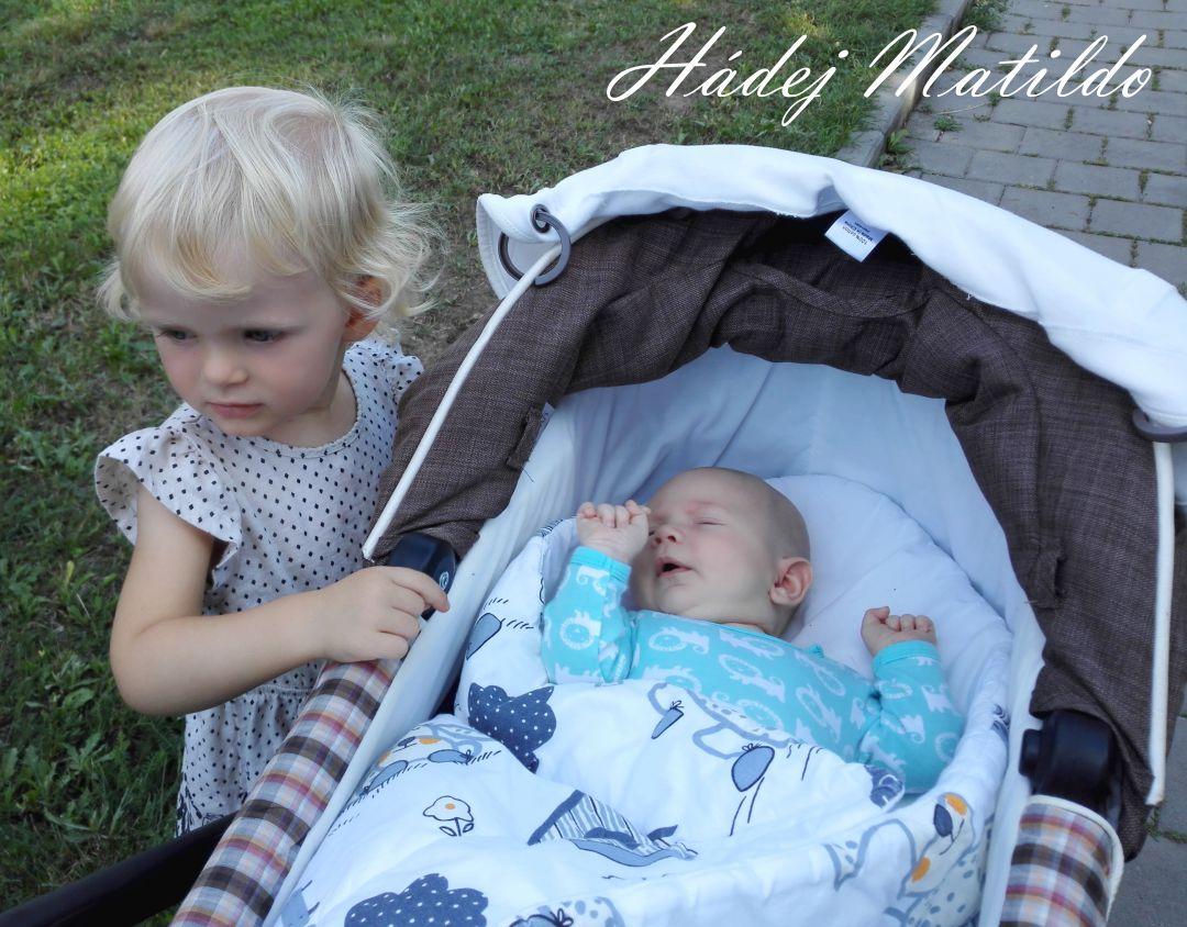 šestinedělí, konec šestinedělí, miminko, novorozenec, sourozenci