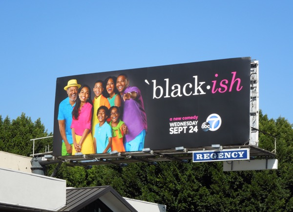 Blackish season 1 TV billboard