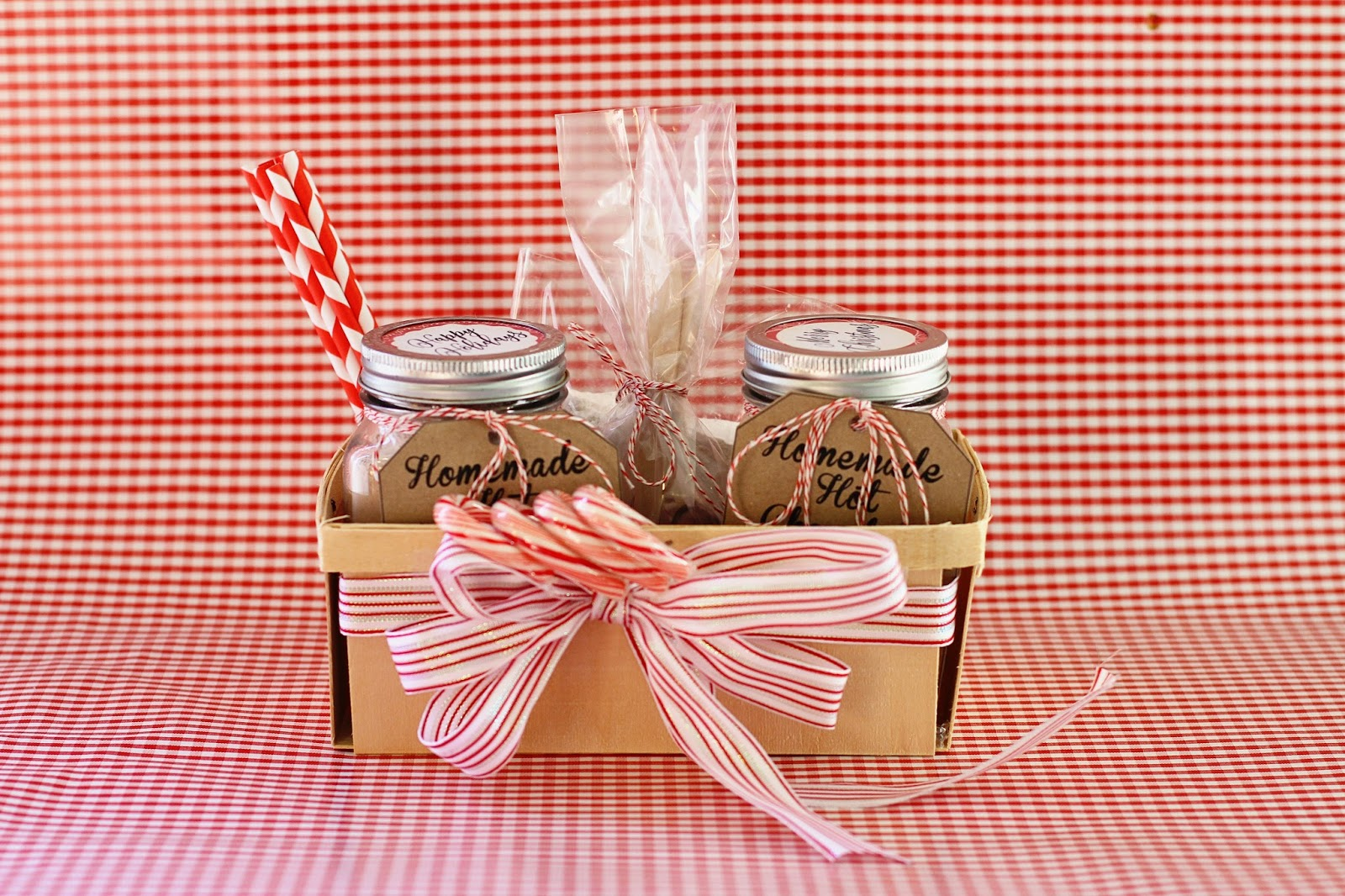 Running from the Law: DIY Homemade Hot Chocolate Gift Basket