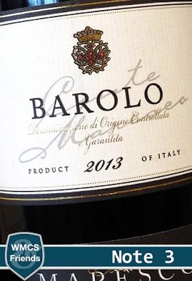 Conte Maresco Barolo 2013