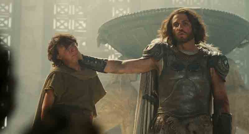 Single Resumable Download Link For Hollywood Movie Wrath Of The Titans (2012) In  Dual Audio