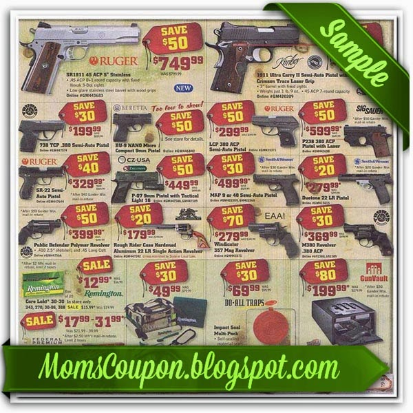 image regarding Gander Mountain Printable Coupon identified as Gander mountain personal savings : Pompano coach station