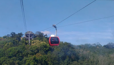 Cable car in Hat Yai