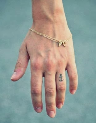 anchor tattoos pictures anchor tattoo on finger