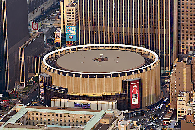 Visiter Madison Square Garden