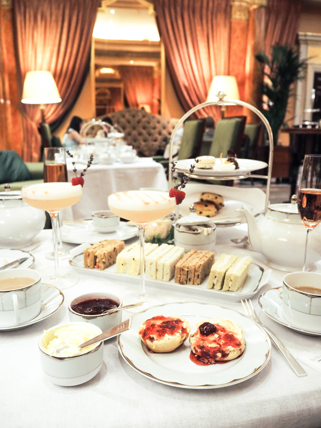 Ice Cream Afternoon Tea at The Dorchester