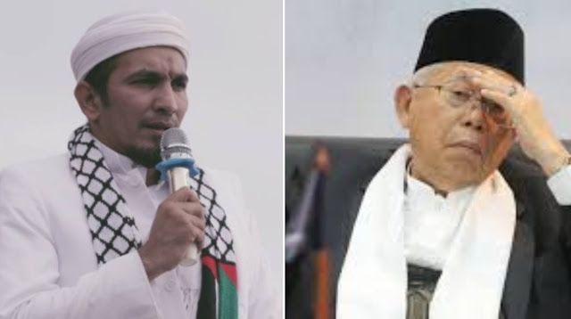 Ma'ruf Amin Menyesal Penjarakan Ahok, FPI: Tadinya Sudah di Jalan yang Benar, Sekarang...