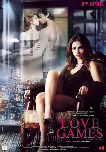 Poster Of Love Games 2016 480p Hindi DVDScr Full Movie Download