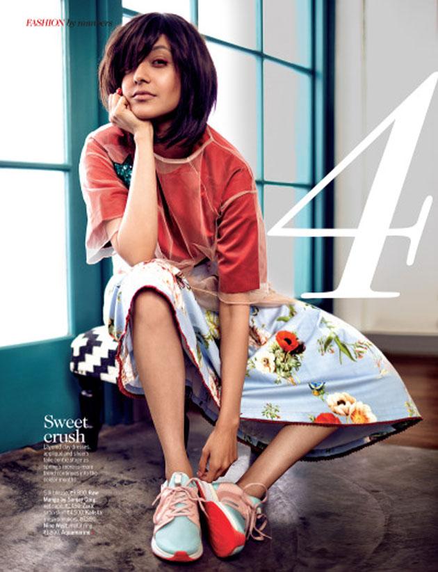 Tollywood Model Kajal Agarwal Photoshoot For Femina