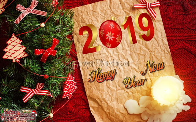 New Year 2019 Colorful Background wallpapers